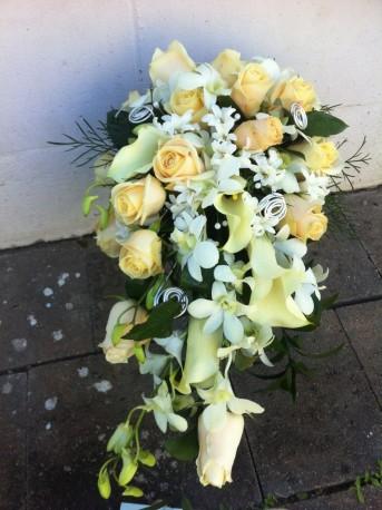 Orchid & Rose Bouquet