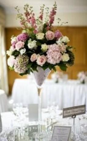 Table Arrangements for your Reception