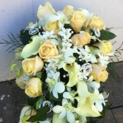 Orchid & Rose Bouquet